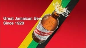 red stripe beer since 1928