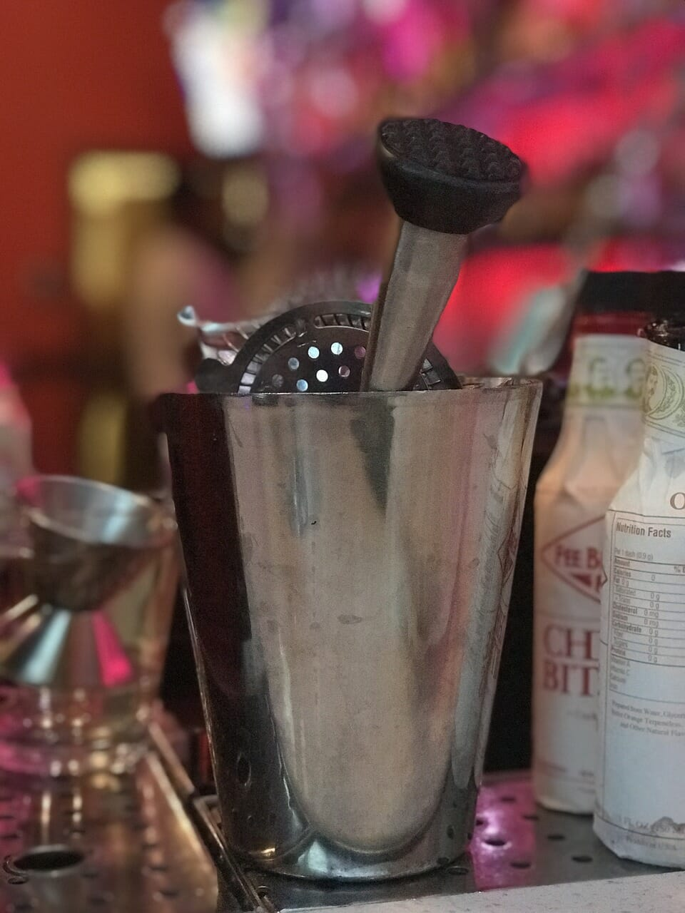Bar tools for a bartending career